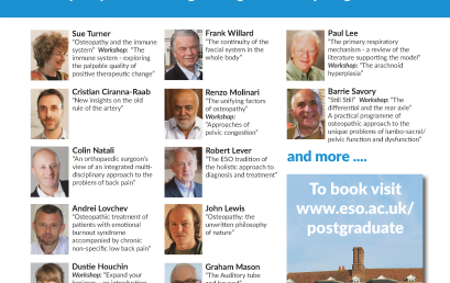 International Conference 2015:  Conference speakers announced