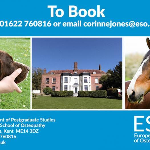 Animal Osteopathy – Open Event