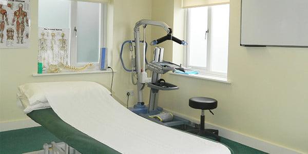Carousel treatment room