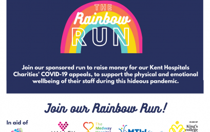 We're supporting the Rainbow Run
