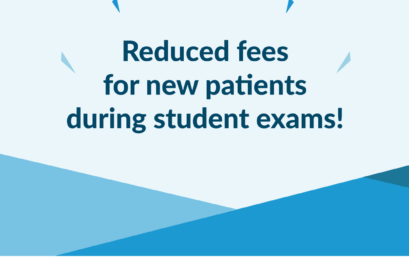 Reduced New Patient fees as part of student exams