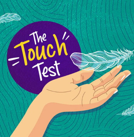Touch test square